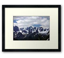 Stubaier Alps Framed Print