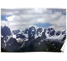 Stubaier Alps Poster