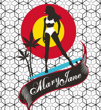 Mary Jane Sticker