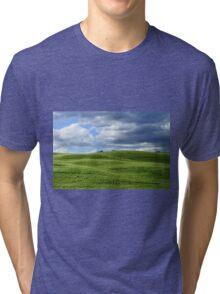 Green hills in Tuscany Tri-blend T-Shirt