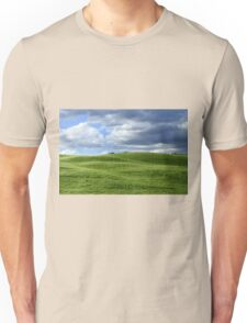 Green hills in Tuscany Unisex T-Shirt