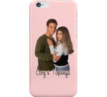 Cory & Topanga iPhone Case/Skin