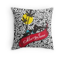 Mary Jane 4 Throw Pillow