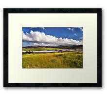 Hebridean Landscape Framed Print