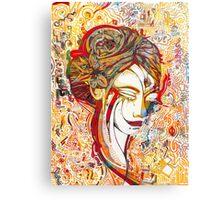 Coloured memories  Canvas Print