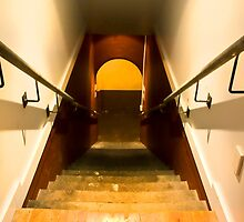 Basement Staircase by Angie Muccillo