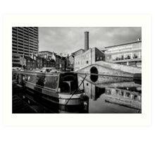 Birmingham Canal Bridge Art Print