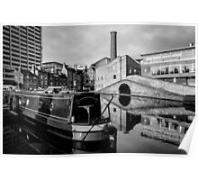 Birmingham Canal Bridge Poster