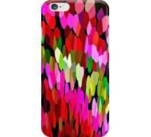 Color Burst Floral Abstract iPhone Case/Skin