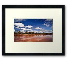 Outback Colour Framed Print