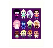 Steven Universe Character Collection Art Print