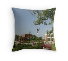Downtown McMinnville Tennessee Throw Pillow