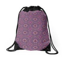 Spiritual Kloth LavFloral Drawstring Bag by Kordial Orange Drawstring Bag