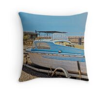 FABULOUS DAY FOR A CRUISE Throw Pillow