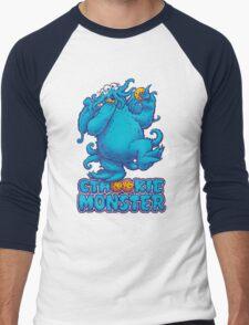 CTHOOKIE MONSTER Men's Baseball ¾ T-Shirt