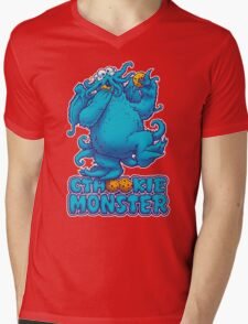 CTHOOKIE MONSTER Mens V-Neck T-Shirt