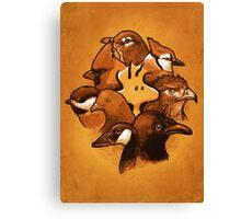 Birdies! Canvas Print