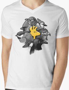 Birdies! Mens V-Neck T-Shirt