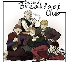 Second Breakfast Club by Jeff Powers Illustration