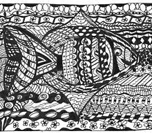 Zen Fishy by Fay Hartwell