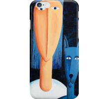Woman and Cat iPhone Case/Skin