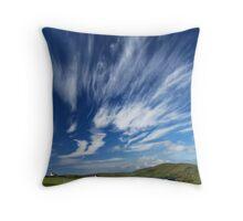 magic sky Throw Pillow