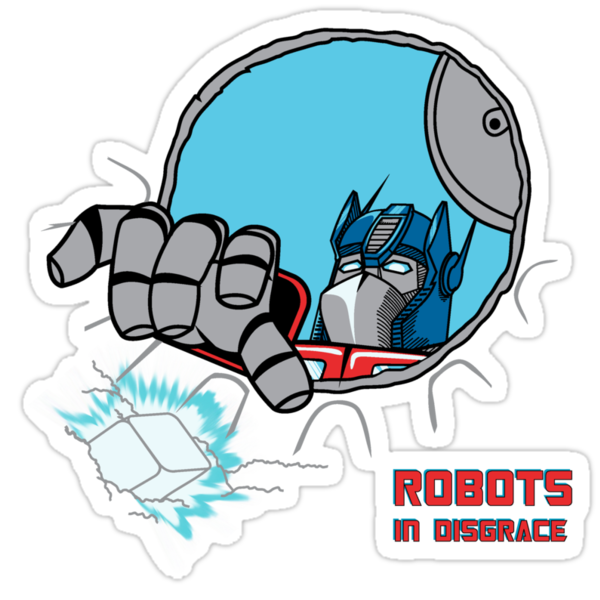 Robots in Disgrace by sergio37