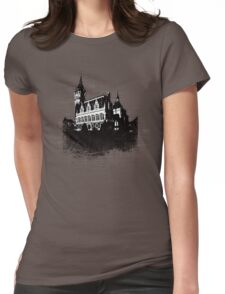 Calais City Grunge Womens Fitted T-Shirt