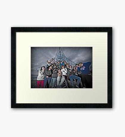 Rat Pack! Framed Print