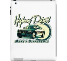 Highway Patrol v2 iPad Case/Skin