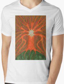 Tree's Light Mens V-Neck T-Shirt