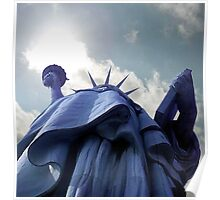 Flame of Liberty Poster