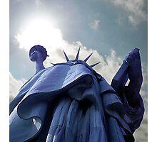 Flame of Liberty Photographic Print