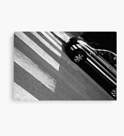 Crosswalk Canvas Print