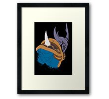 Arms of Rising Fury Framed Print
