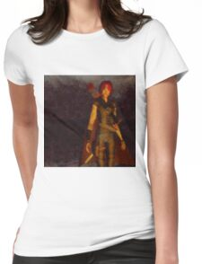 Warrior Queen by Sarah Kirk Womens Fitted T-Shirt