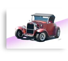 1930 Ford Model A Roadster Metal Print