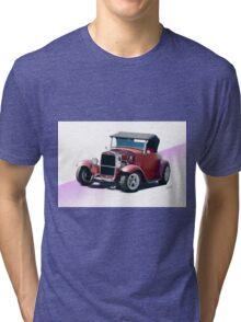 1930 Ford Model A Roadster Tri-blend T-Shirt
