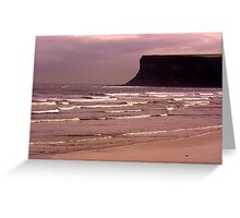 View to Saltburn Scar Greeting Card