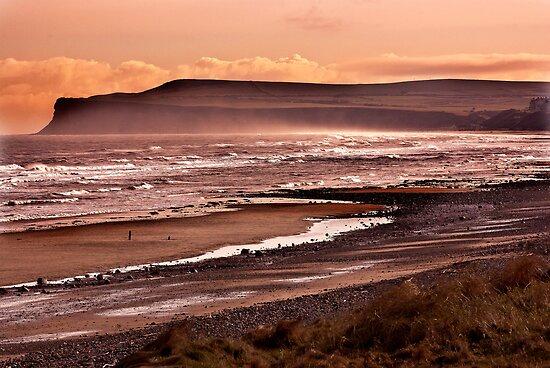 Saltburn Bay by Trevor Kersley