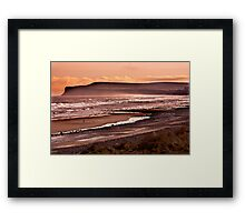 Saltburn Bay Framed Print