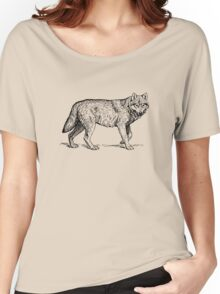 Hipster Wolf Women's Relaxed Fit T-Shirt