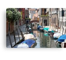 Away from theTourist Beat - Venice, Italy Canvas Print
