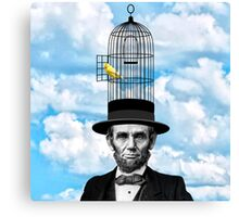 Abe Canary Canvas Print