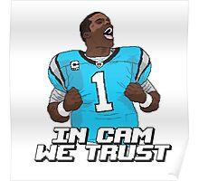 In Cam We Trust - 16 bit Edition Poster