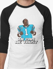 In Cam We Trust - 16 bit Edition Men's Baseball ¾ T-Shirt