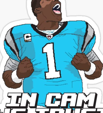 In Cam We Trust - 16 bit Edition Sticker
