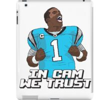 In Cam We Trust - 16 bit Edition iPad Case/Skin