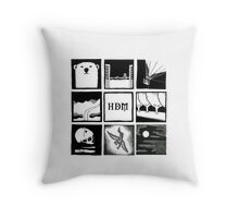 His Dark Materials Square Throw Pillow