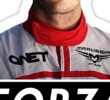 Forza Jules 1989 - 2015 (Jules Bianchi) Sticker